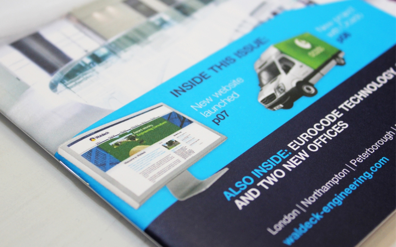 Waldeck Inspire newsletter design