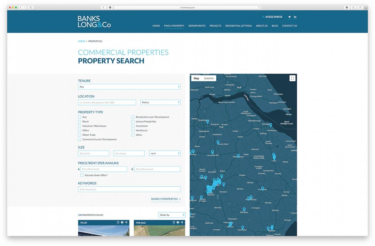 Banks Long property search
