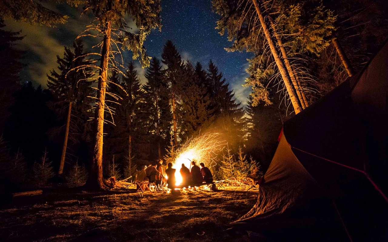Northcore camp fire image