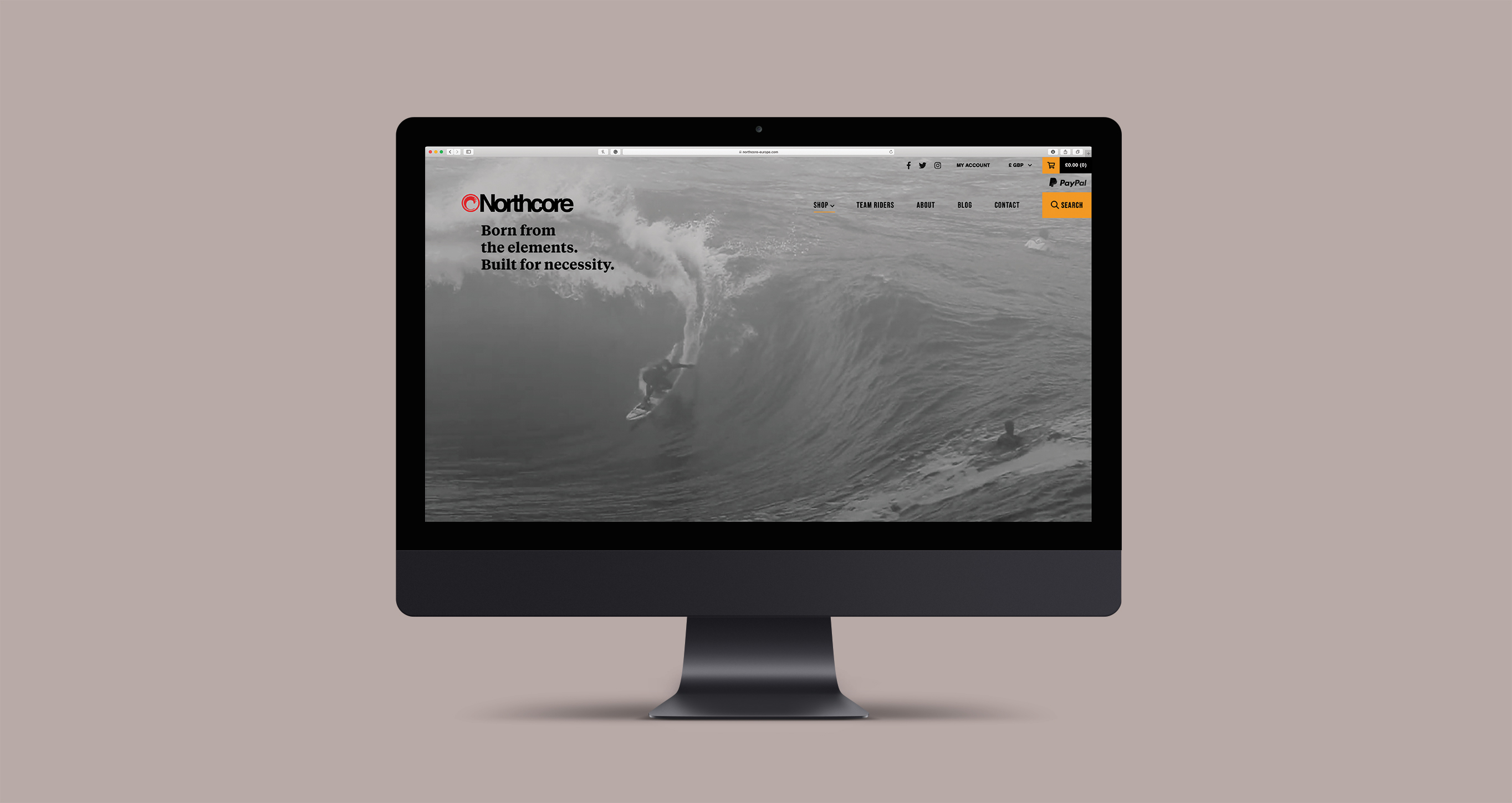 Northcore website design