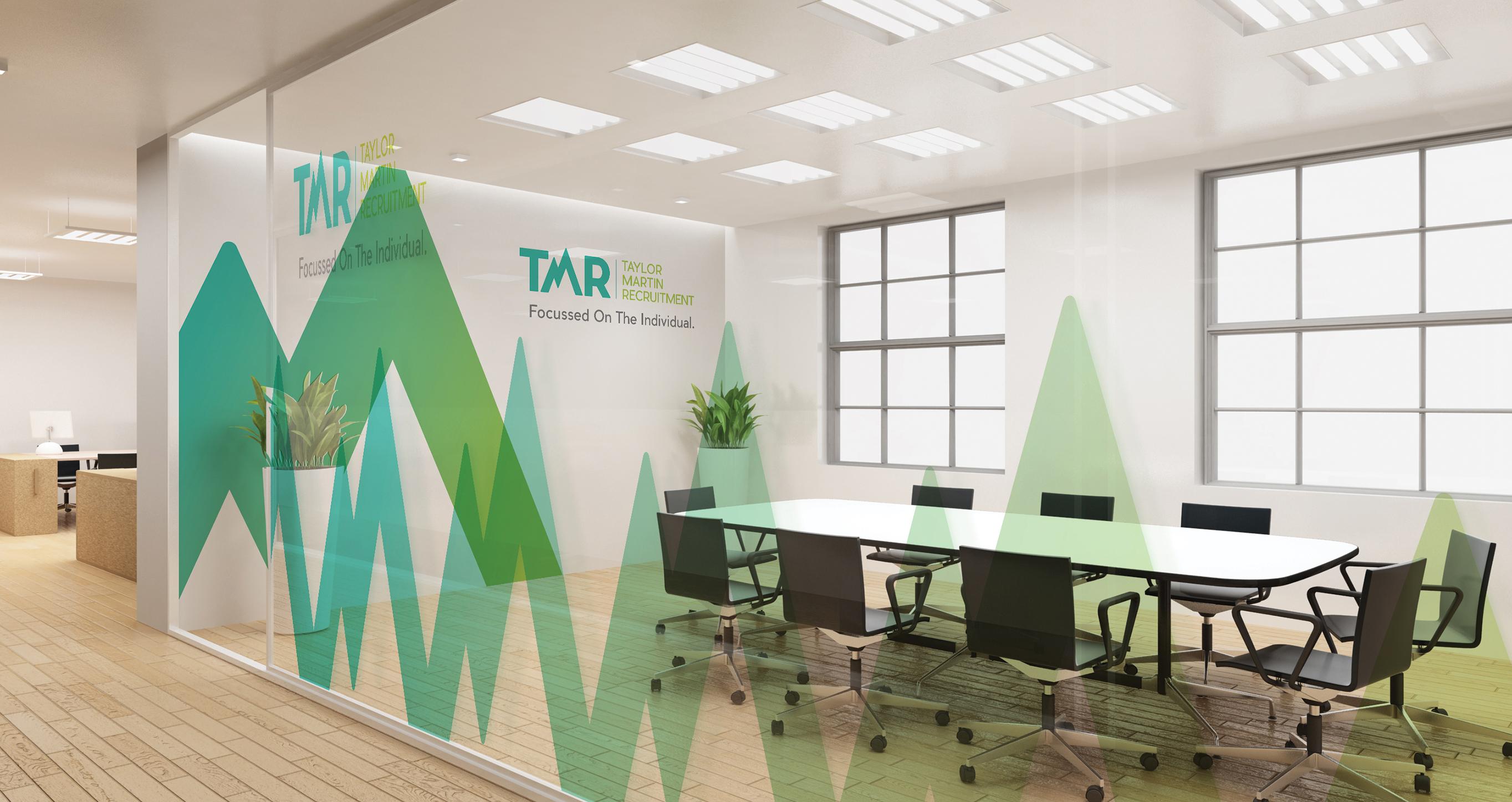 TMR meeting room signage design