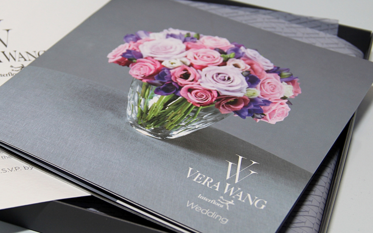 Vera Wang Invitation pack design