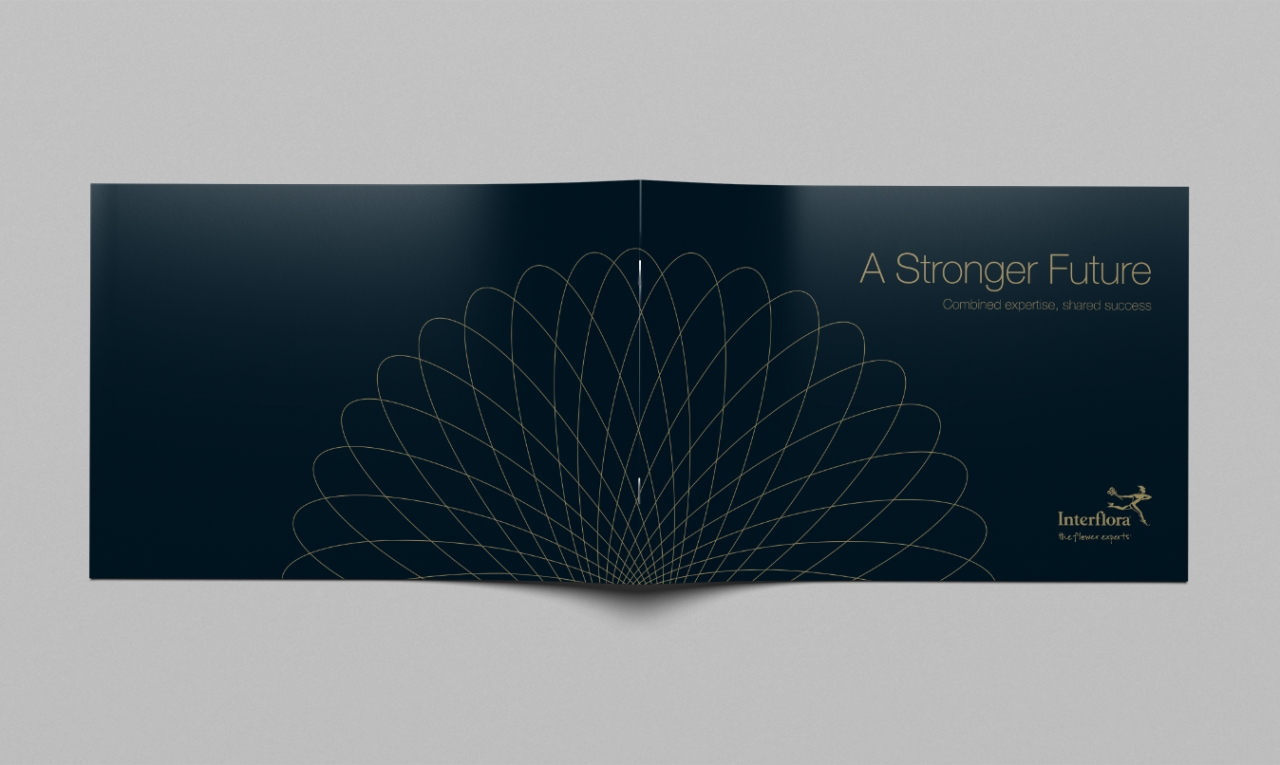 Interflora brochure design