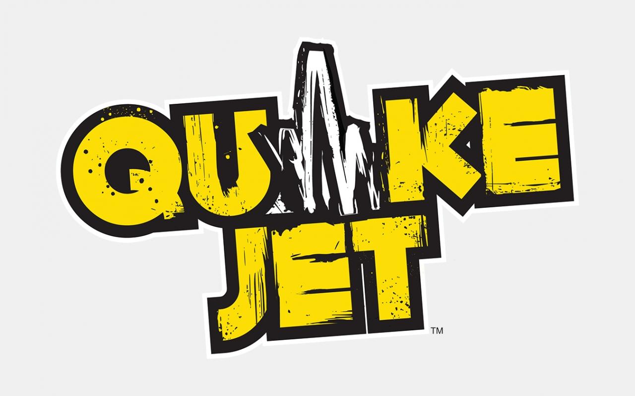 Quakejet logo design