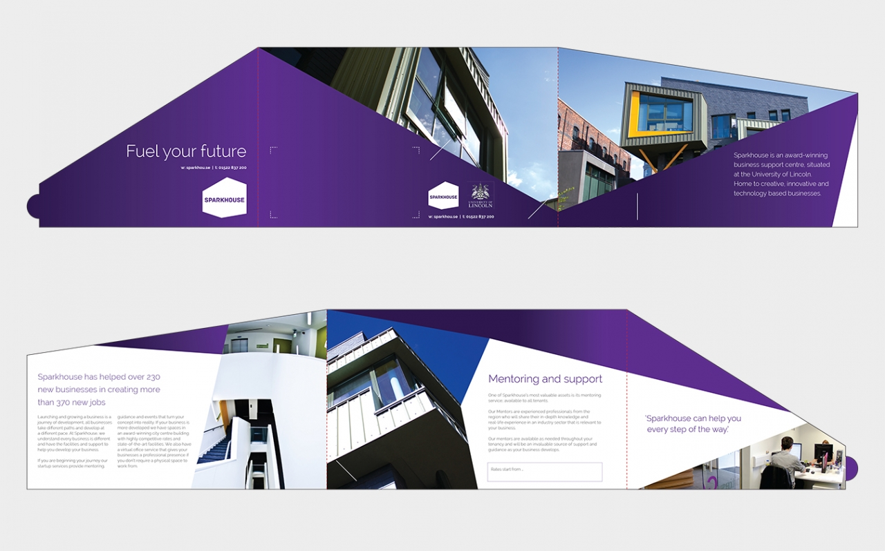 Sparkhouse direct mail design