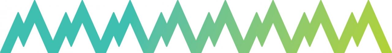 TMR continuous M logo design