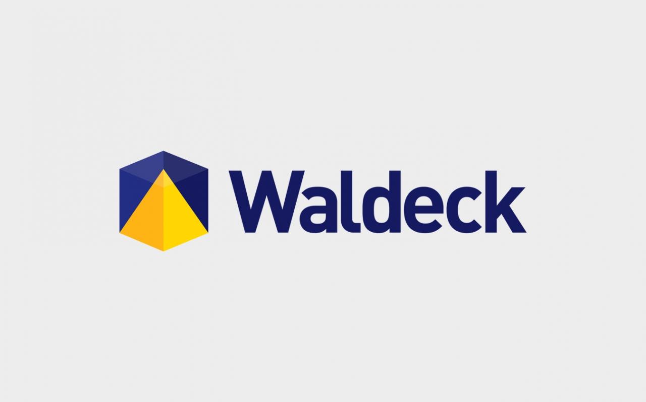 Waldeck logo design