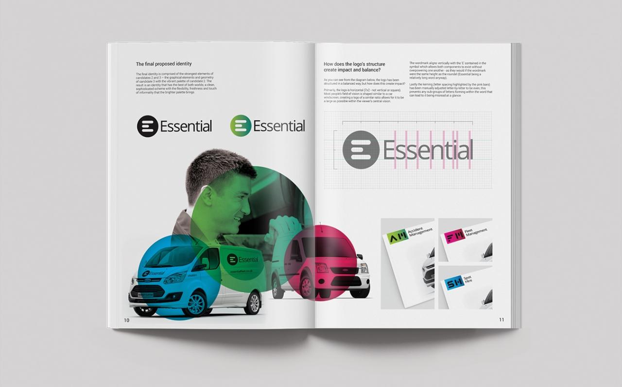 Essential brand development book