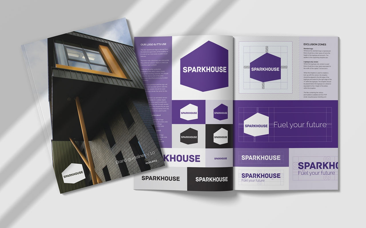 Sparkhouse brand guidelines