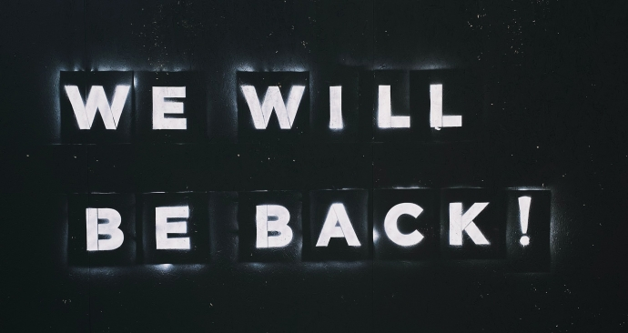 Internal communications - we will be back!