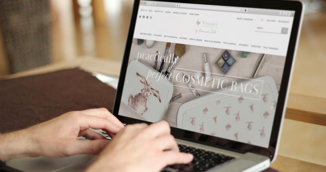 Wrendale Designs Magento 2 website